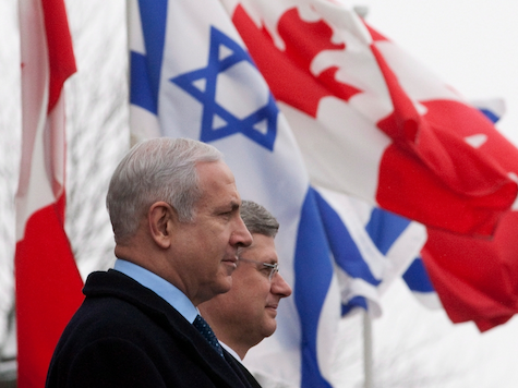 Have you noticed how nice the Israeli and Canadian flags look when they are together?