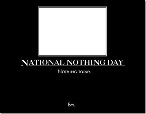 national-nothing-day